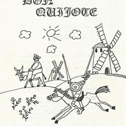 Don Quichotte 1983 - Plakat