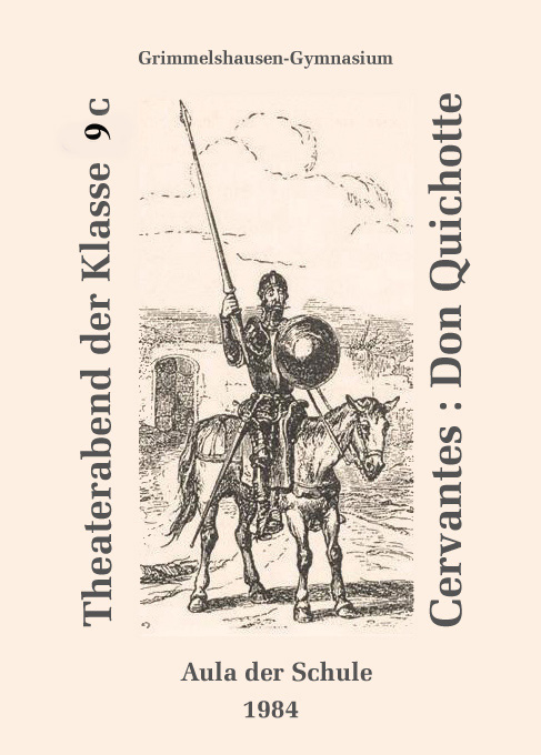 Don Quichotte 1984 - Plakat