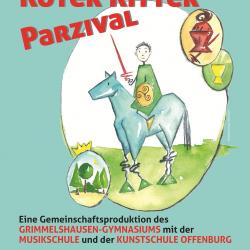 Roter Ritter Parzival 2012 - Flyer Vorderseite